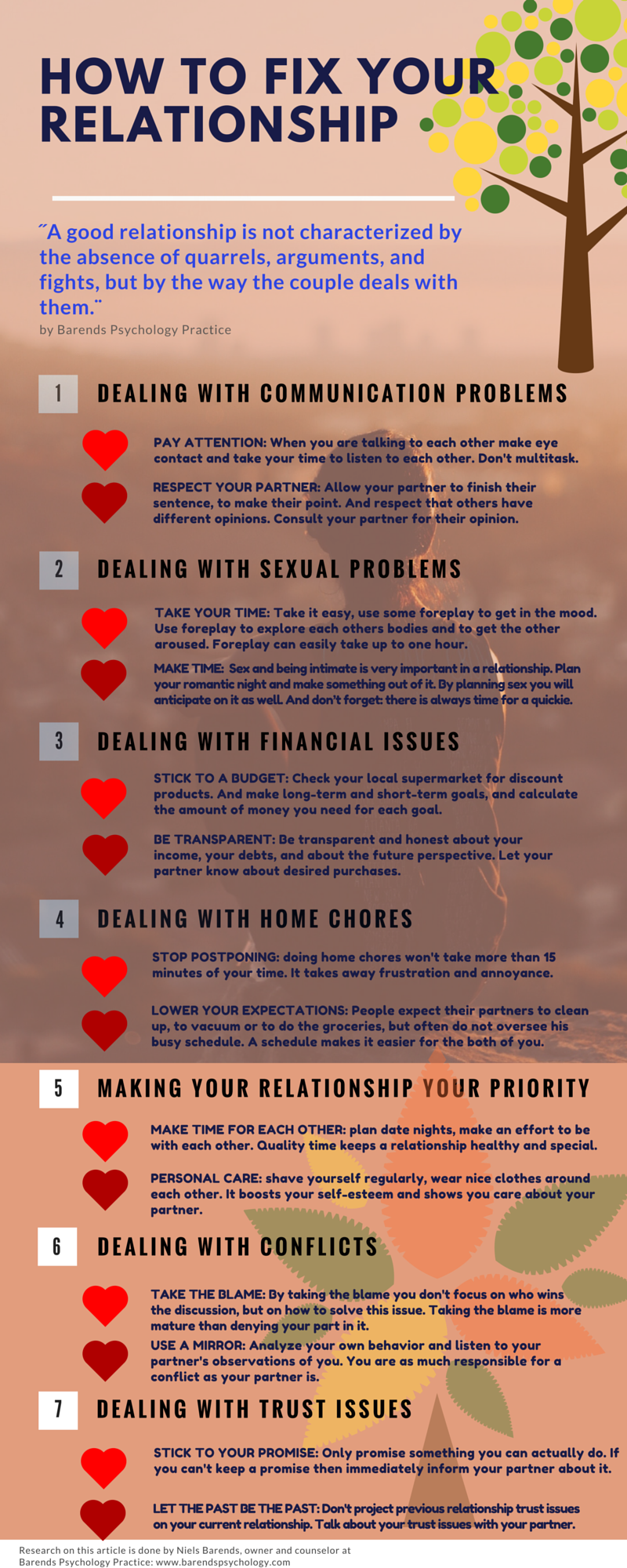 7 relationship problems and how to solve them