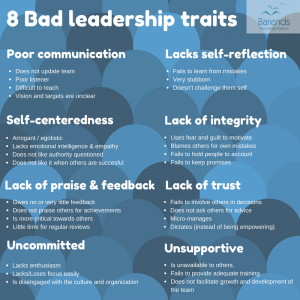 PhD stress - 8 bad leadership traits