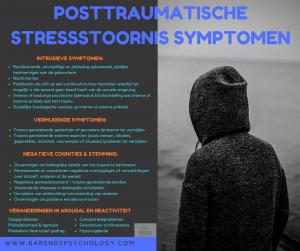 Posttraumatische stress symptomen. Omgaan met PTSS